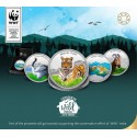 MMTC PAMP Conserve Wild Life India 2018 Series Silver Coin 1 oz / 31.10 gm in 999.9 Purity Set of Four