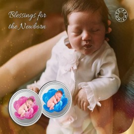MMTC-PAMP New Born Baby Silver Coin of 10 gm in 999.9 Purity