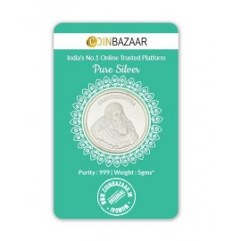 Zarathushtra Silver Coin of 5 Gram in 999 Purity / Fineness -by Coinbazaar