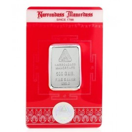 RSBL Silver Bar 5 Grams in 999 24Kt Purity Fineness - 5 gm / 5 gms
