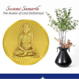 Swami Samrtha Panchdhatu Coins Fusion of Gold Silver Copper Tin and Zinc By Gianna Art