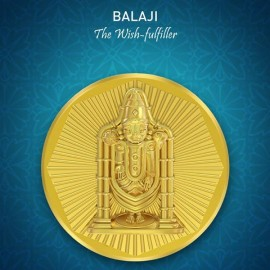 Balaji Panchdhatu Coins Fusion of Gold Silver Copper Tin and Zinc