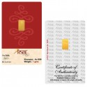 RSBL Gold Bar Of 1 Gram 24Kt Gold 999 Purity Fineness