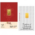RSBL Gold Bar 2 Grams 24Kt Gold 999 Purity Fineness