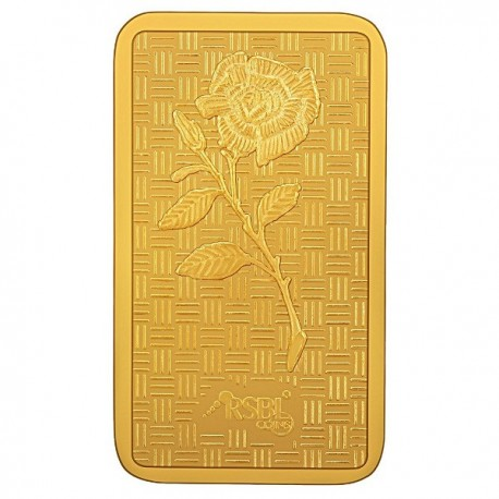 Gold Bar 100 Grams 24Kt Gold 999 Purity Fineness - 100 gm / 100 gms