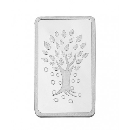 Kundan Kalpataru Tree Silver Bar of 1 Kg in 999 Purity / Fineness