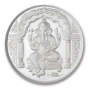 Shree Ganesh Silver Coin of 50 Gram in 999 Purity / Fineness