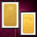 RSBL Gold Bar 5 Grams 24Kt Gold 999 Purity Fineness - 5 gm / 5 gms