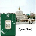 Kundan Color Ajmer Sharif Silver Bar of 20 Gram in 999 Purity / Fineness in Certi Card