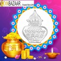 Kalash Shape Silver Coin of 5 Gram in 999 Purity / Fineness -by Coinbazaar