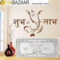 Shubh Labh Silver Note Of 10 Gram in 999 Purity