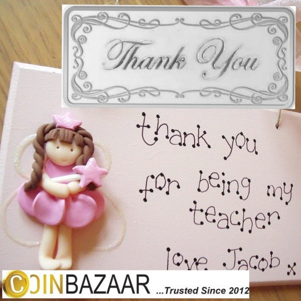 Buy Thank You Silver Bar Of 10 Gram In 999 Purity Online