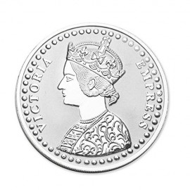 Victoria Queen Silver Coin of 2 Gram in 999 Purity / Fineness - by Coinbazaar