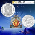 Goddess Mahalakshmi Prasanna Silver Coin of 50 Gram in 999 Purity / Fineness