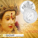 Goddess Ambemata Silver Coin of 10 Gram in 999 Purity / Fineness by Coinbazaar