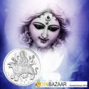Goddess Ambemata Silver Coin of 25 Gram in 999 Purity / Fineness
