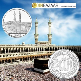 Kaba Silver Coin of 10 Gram in 999 Purity / Fineness by Coinbazaar