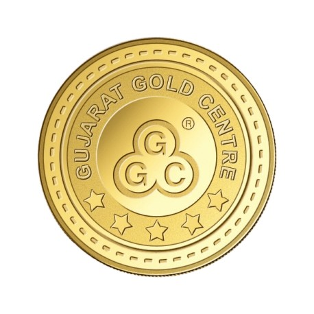 Gujrat Gold Centre Gold Coin Of 2 Gram 24Kt in 999 Purity / Fineness