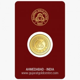 Gujrat Gold Centre Gold Coin Of 5 Gram 24Kt in 999 Purity / Fineness