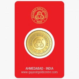 Gujrat Gold Centre Gold Coin Of 25 Gram 24Kt in 999 Purity / Fineness