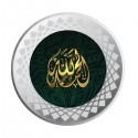 MOHUR Color Allah Silver Coin Of 20 Gram in 999 Purity / Fineness