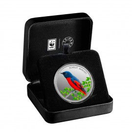 MMTC PAMP The Scarlet Minivet Silver Coin Of Conserve WWF 2020 Series 1 oz / 31.10 gm 999.9 Purity