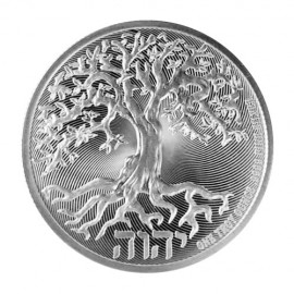 Tree Of Life Silver Coin 2020 1 Oz / 31.1 Grams 99.99 By Niue