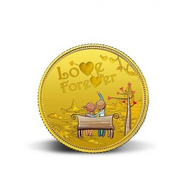 MMTC-PAMP Love Forever Gold Coins of 10 Grams in 24 Karat 999.9 Purity / Fineness