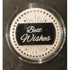 MMTC PAMP Silver Coin Best Wishes of 20 Gram in 999.9 Purity / Fineness