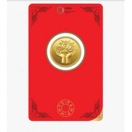 MMTC-PAMP Gold Coin of 8 Grams 24 Karat in 999.9 Purity / Fineness in Certi Card