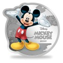 MMTC PAMP Disney Micky Mouse Colored Silver Coin 1 oz / 31.10gm in 999.9 Purity