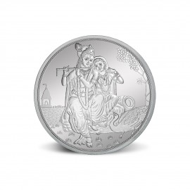MMTC PAMP Radha Krishna Silver Coin of 20 Gram in 999.9 Purity / Fineness