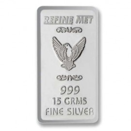Refine Met Silver Chip in 15 gm 999 Purity