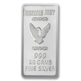 Refine Met Silver Chip in 20 gm 999 Purity