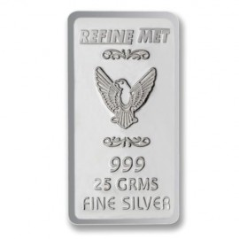 Refine Met Silver Chip in 25 gm 999 Purity