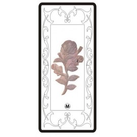 Rose Design Silver Bar of 20 Gram in 999 Purity / Fineness