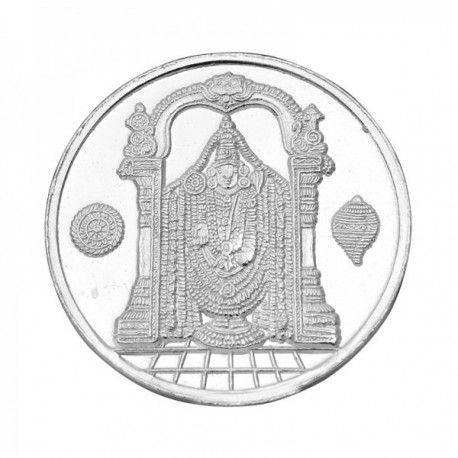 Balaji 5 Gram Silver Coin in 999 Purity / Fineness