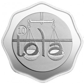 MMTC-PAMP Tola Octagon Shape Silver Coin of 116.63 Gram in 999.9 Purity / Fineness