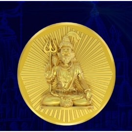 Shiva Panchdhatu Coins Fusion of Gold Silver Copper Tin and Zinc