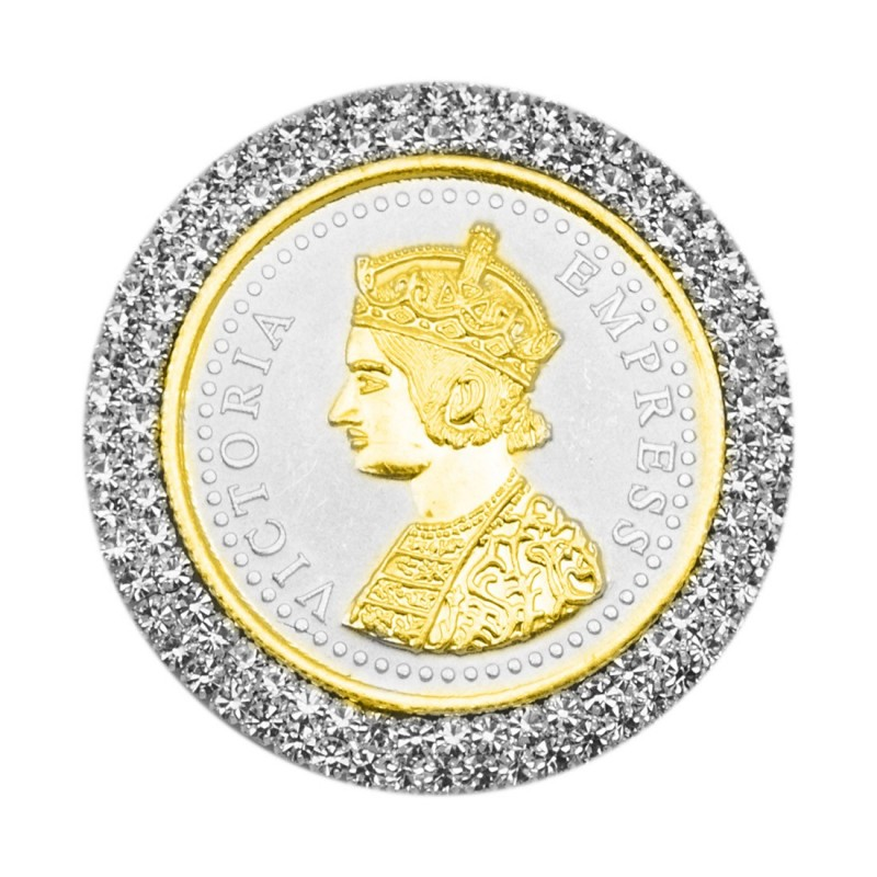 Buy Victoria Queen Silver Coin Of 100 Gram In 999 Purity