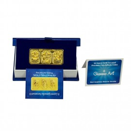 Trimurti Panchdhatu Bar Fusion of Gold Silver Copper Tin and Zinc