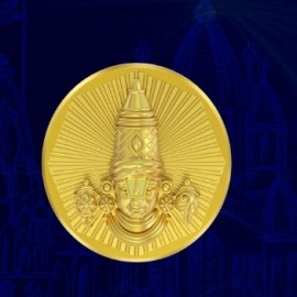Balaji Panchdhatu Coins Fusion of Gold Silver Copper Tin and Zinc By Gianna Art