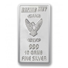 Refine Met Silver Chip in 10 gm 999 Purity