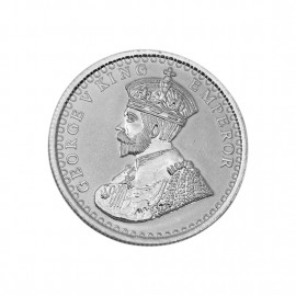 George V King Emperor Silver coin 50 Gram in 999 Purity / Fineness -by Coinbazaar
