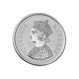 Victoria Queen Silver Coin of 50 Gram in 999 Purity / Fineness