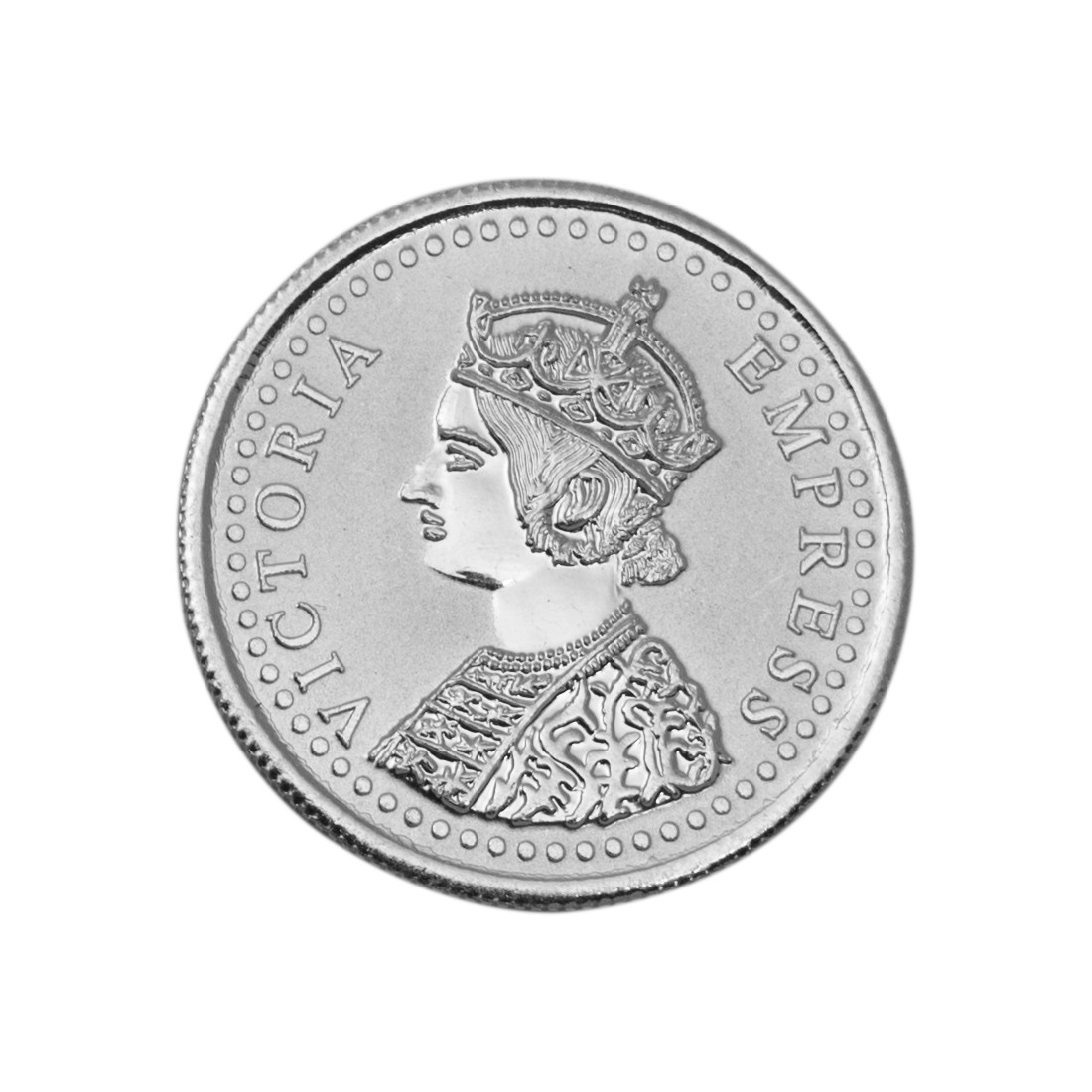 Buy Victoria Queen Silver Coin Of 2 Gram In 999 Purity