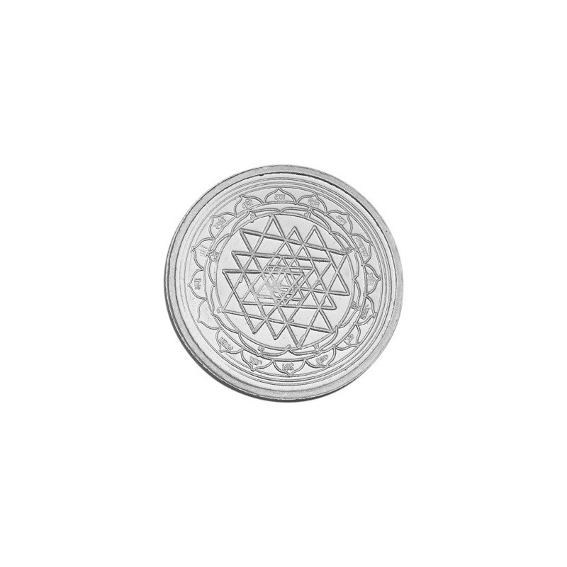 Buy Goddess Mahalakshmi Prasanna Silver Coin Of 10 Gram In