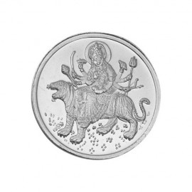 Goddess Ambemata Silver Coin of 20 Gram in 999 Purity / Fineness