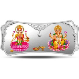 MMTC-PAMP Silver Bar of 250 Gram Laxmi-Ganesh in 999.9 Purity / Fineness