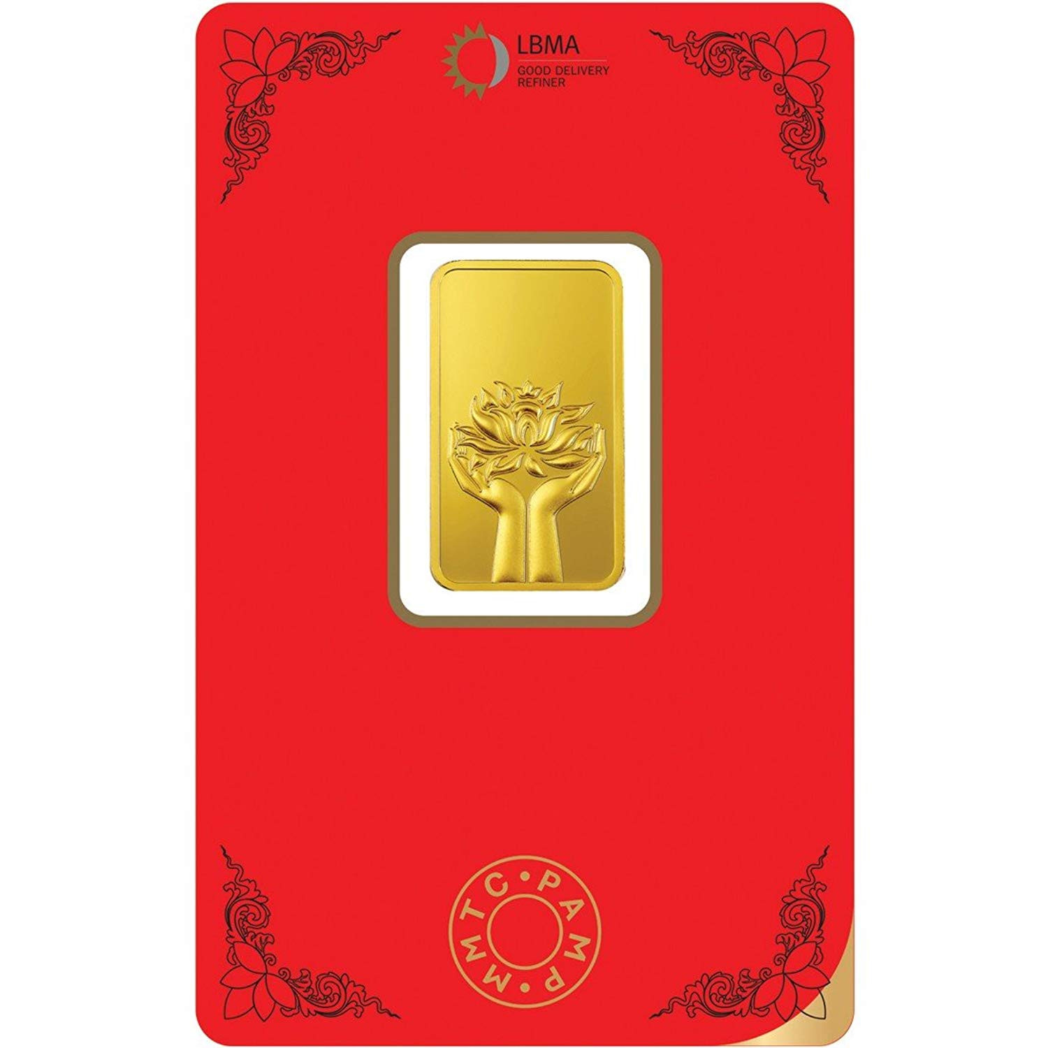 Buy Mmtc Pamp Gold Ingot Bar Of 10 Grams In 24 Karat 999 9
